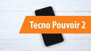 Розпакування смартфона Tecno Pouvoir 2 / Unboxing Tecno Pouvoir 2