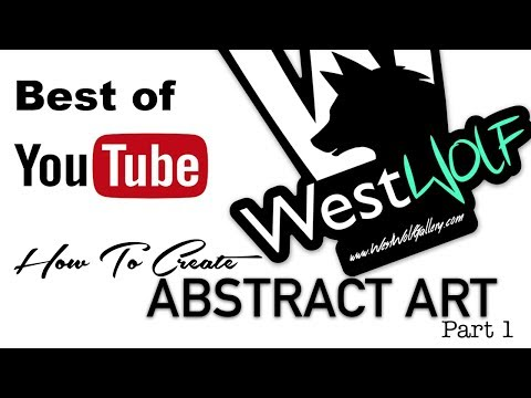 How to create abstract art tips and tricks part 1