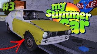 My Summer Car 2016 (#3) - SAMOCHÓD W PEŁNI ZŁOŻONY + JAZDA PRÓBNA Z DAWNYCH LAT