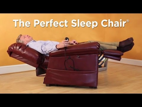 The Perfect Sleep Chair Ultimate Comfort In A Lift Chair Youtube