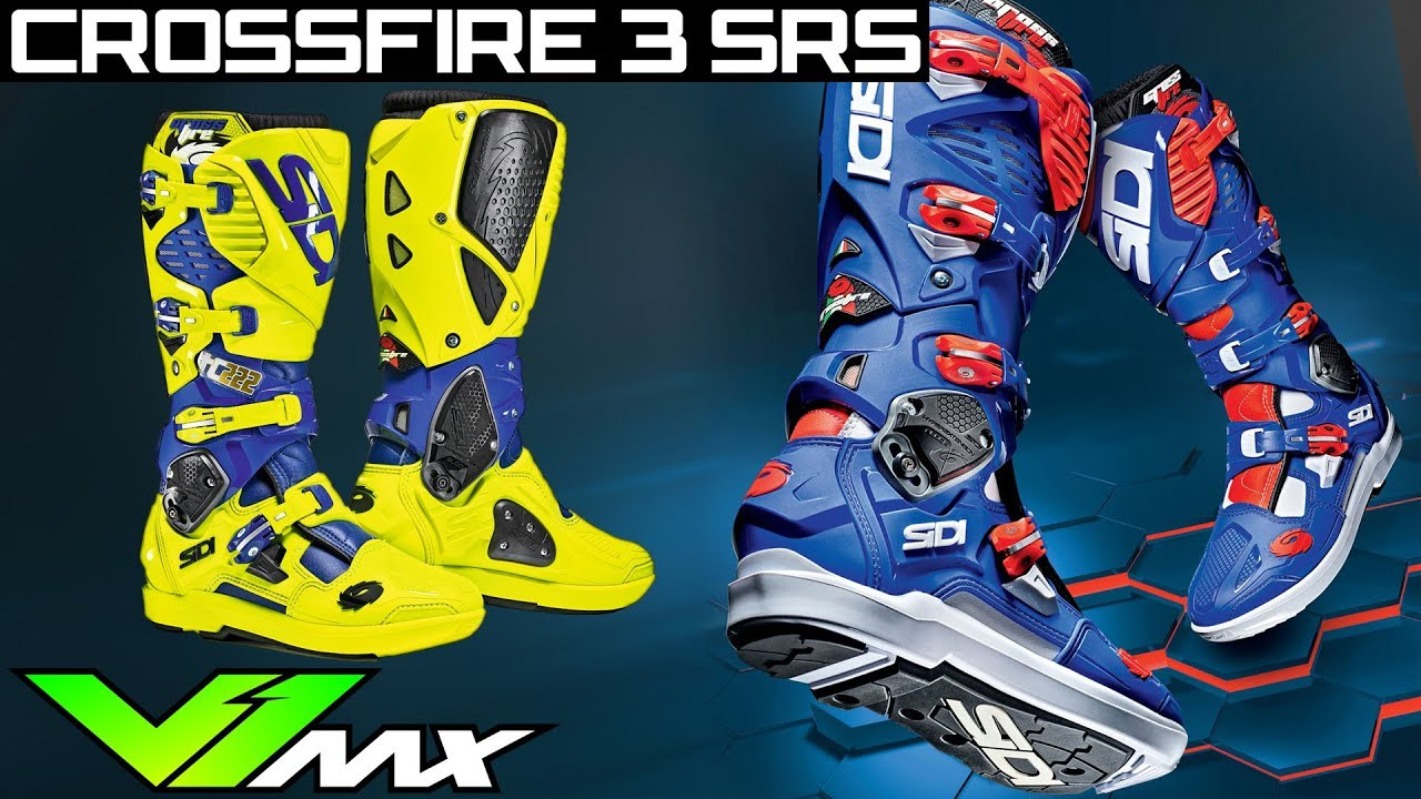 Dirt Bike Boots SIDI Crossfire 3 Metatarsus Insert