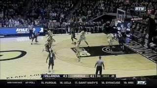 Villanova at Purdue - Men's Basketball Highlights
