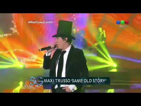 "Maxi Trusso en vivo: ""Nothing at All""  Susana Giménez"