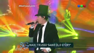"Maxi Trusso en vivo: ""Nothing at All"" - Susana Giménez"