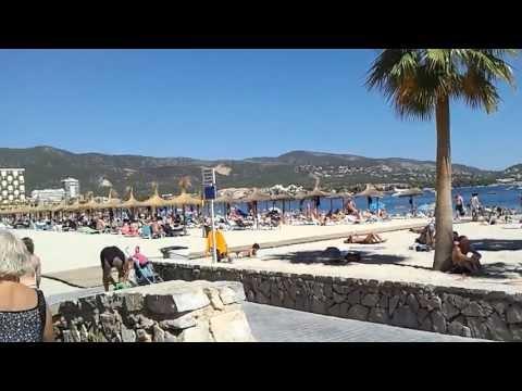 Magaluf beach, Majorca, Spain