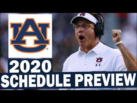 Auburn Tigers 2020 College Football Schedule Preview