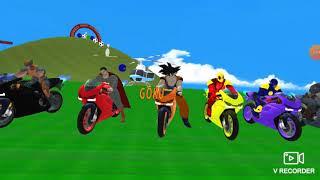 العاب اطفال - لعبة موتوسيكلات سبايدر- مان للاطفال العاب تحدي - الدراجة النارية-spider man