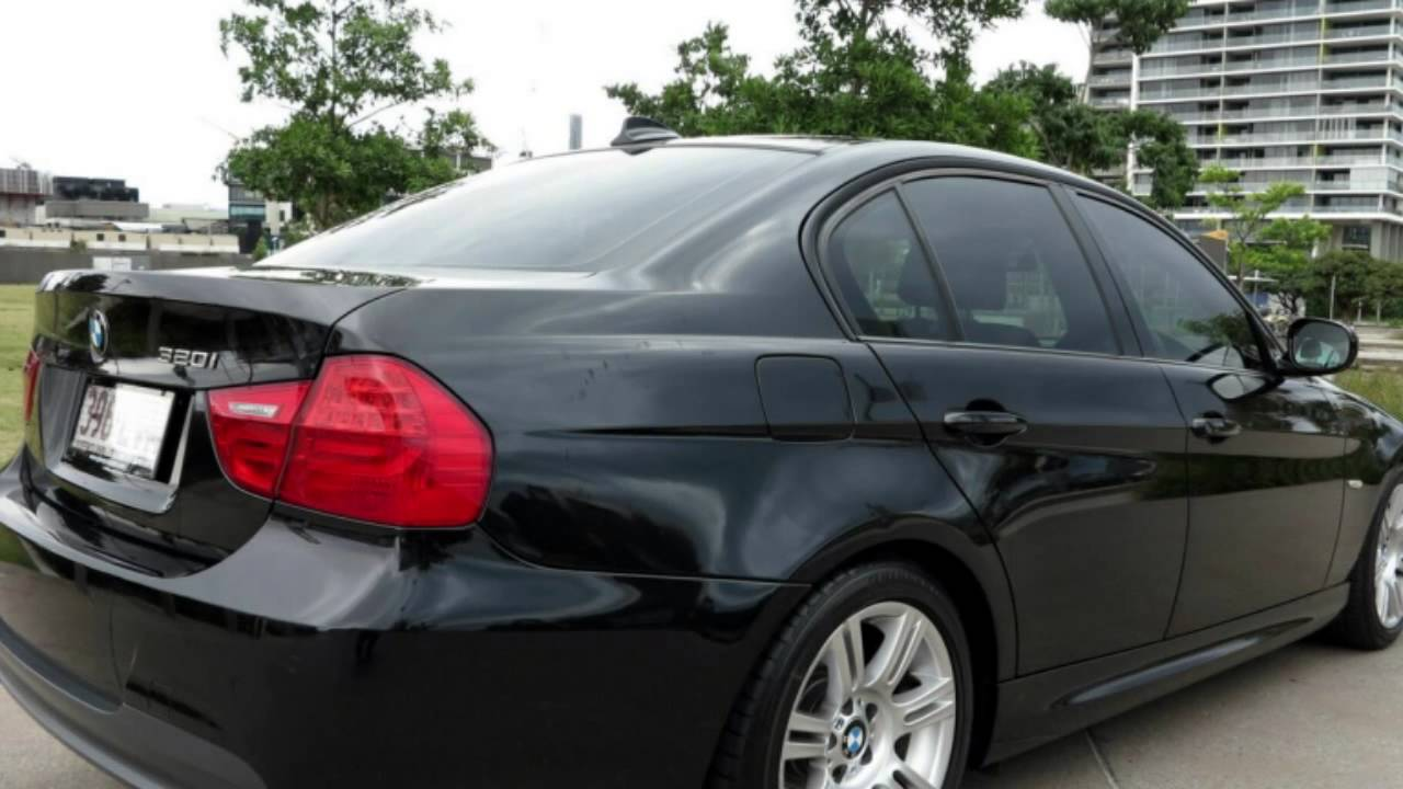 2009 bmw 320i e90 my09 executive steptronic sapphire black 6 speed sports automatic sedan youtube. Black Bedroom Furniture Sets. Home Design Ideas