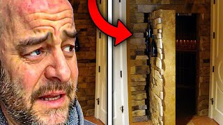 Man Uncovers Creepy Hidden Rooms, Moves Out When He Sees A Face
