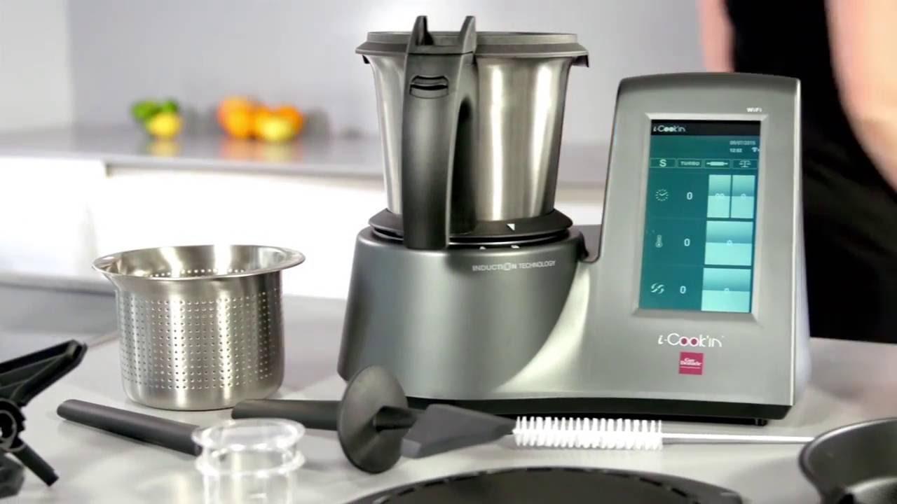i-Cook\'in il robot degli Chef - YouTube