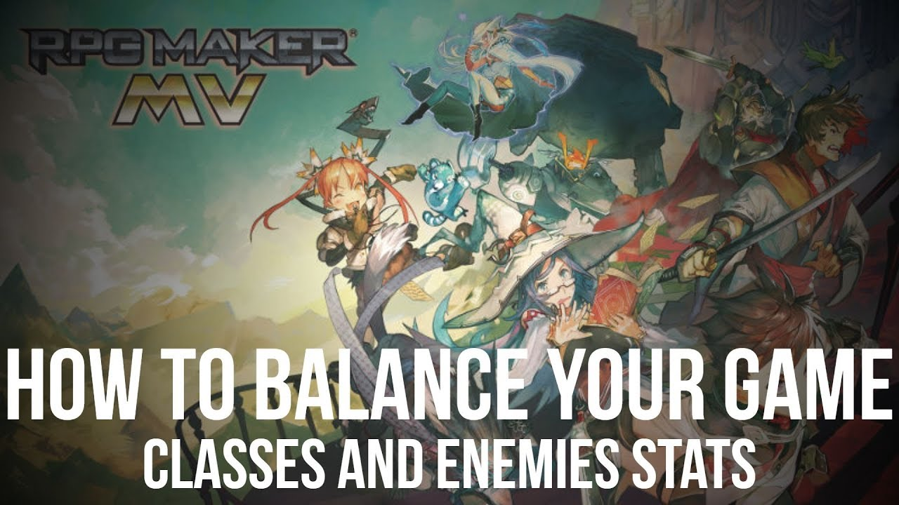 Repeat How to Balance your Game #1 - Classes and Enemies Stats (RPG