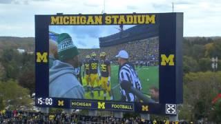Kenny Allen Kicker / Punter University of Michigan 2015-2016 Game Film