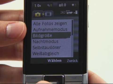Sony-Ericsson Naite Test Kamera