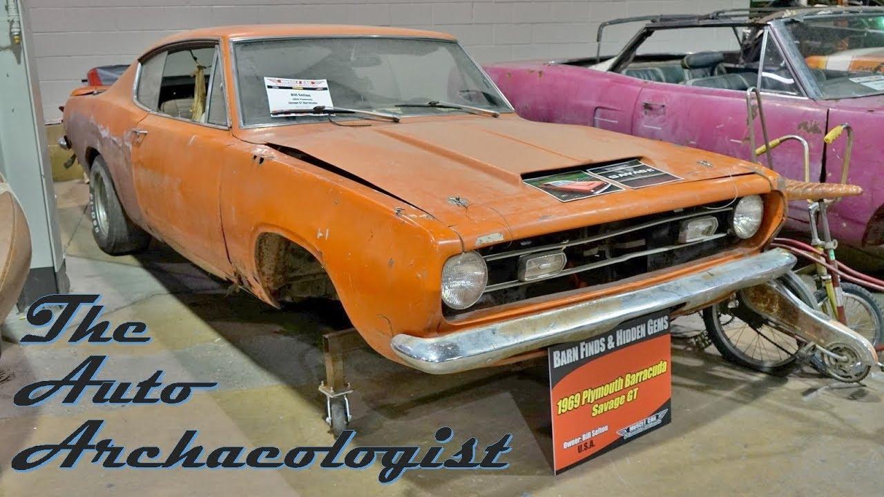 Mcacn Barn Finds Rare 1969 Savage Gt Barracuda Youtube