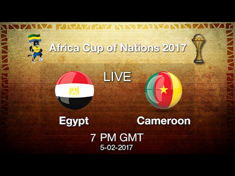 Egypt vs Cameroon Live Football Match | African cup nations