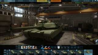 Armored Warfare - Early Access #4 - Gameplay 197 PVP(M1 Abrams,M551 Sheridan,Leopard 1,)