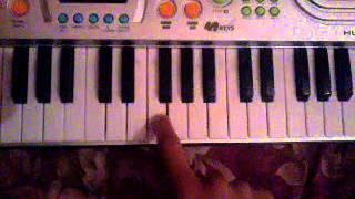 أغنية لما نستشهد منروح الجنة على البيانو