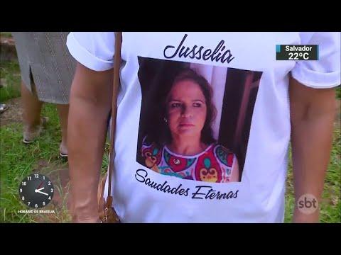 Advogada morta pelo ex-marido é enterrada no Distrito Federal | SBT Notícias (12/04/18)