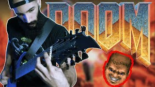 just a regular DOOM E1M1 ''At Doom's Gate'' cover