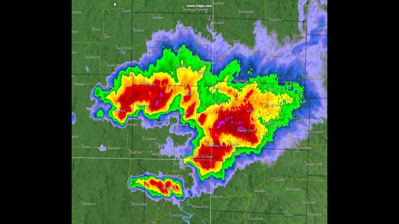 May   Joplin Tornado Radar Loop YouTube - Us weather radar map loop