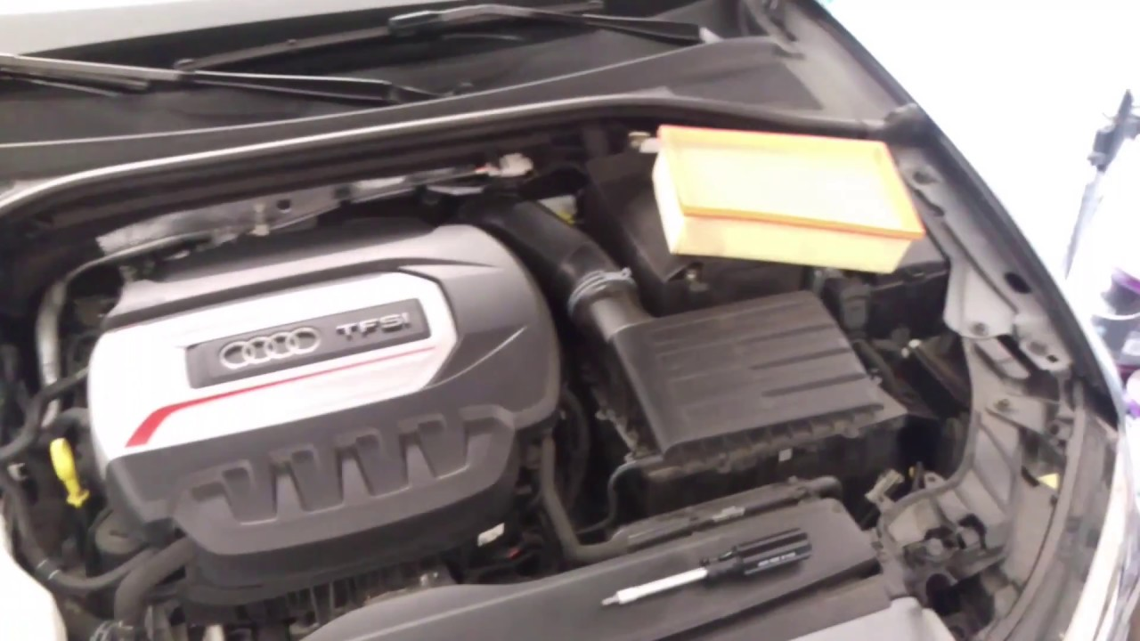 2015 Audi S3 A3 Engine Air Filter Change Youtube