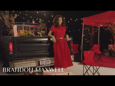 Emily DiDonato and Lynn Wyatt   Spring Summer 2019 Campaign   Brandon Maxwell