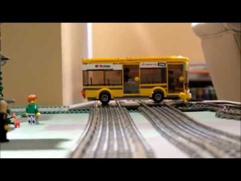 Thumbnail: Lego Big Bang Bus Crash with Train