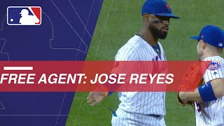 Jose Reyes set to enter free agency in 2019