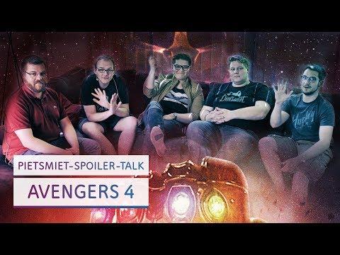 Das Ende des Infinity War & der Anfang von Avengers 4 | Spoiler-Talk mit PietSmiet