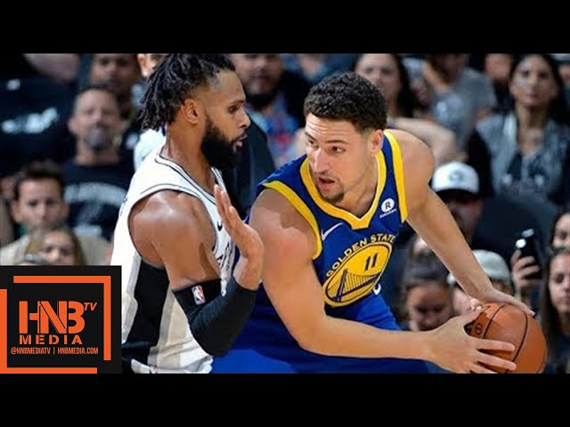 Golden State Warriors vs San Antonio Spurs Full Game Highlights / Game 3 / 2018 NBA Playoffs