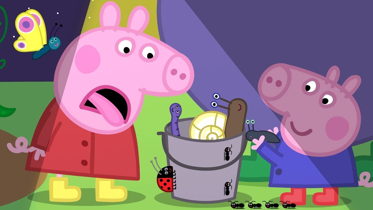 Peppa Pig Official Channel Night Animals With Peppa Pig