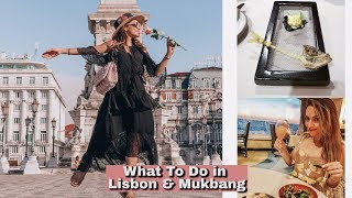 WHAT TO DO IN LISBON + MICHELIN STAR MUKBANG