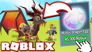 BUYING THE MOST EXPENSIVE DRAGON in DRAGON KEEPER SIMULATOR!! (Roblox)