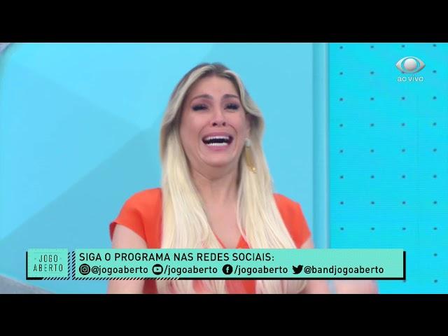 RENATA FAN CHORA COM RECADO ESPECIAL DE ZIDANE   JOGO ABERTO