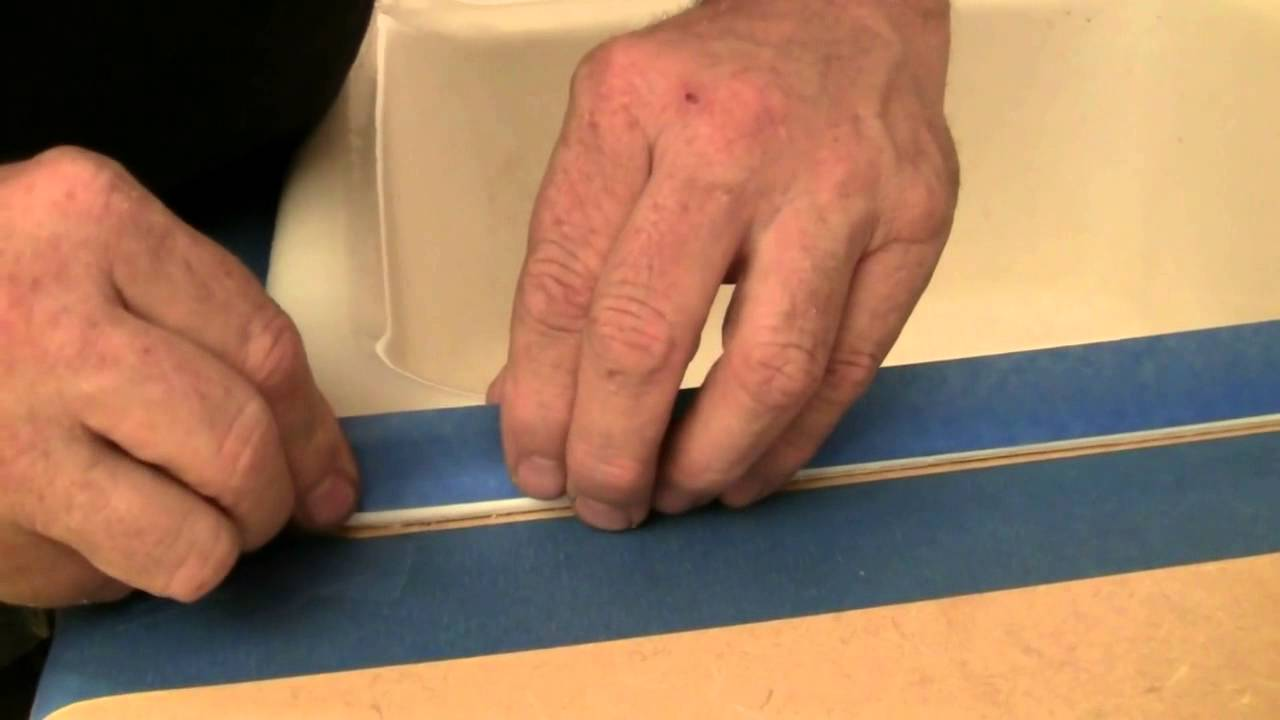 how to caulk a kitchen sink youtube rh youtube com