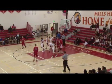 2016 PAL High School Basketball Tournament - Boys Semi-Final - Aragon vs. Menlo-Atherton