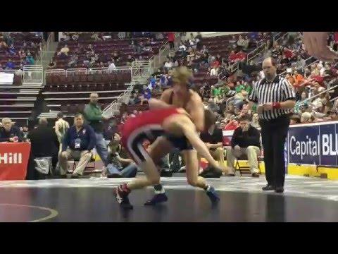 Highlights: George Phillippi, Derry Area vs. Dustin Jamison, Brockway