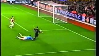 2001 October 24 Arsenal England 3 Real Mallorca Spain 1 Champions League