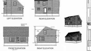 PDF Barn Plan - Plan #224c Cottage Custom Home Design