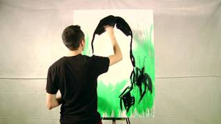"""The Dead Weather - Jack Lawrence Painting - """"Hustle and Cuss"""""""