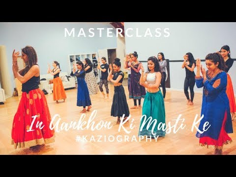 MASTERCLASS #KAZIOGRAPHY | In Aankhon Ki Masti Ke | Joya Kazi Unlimited