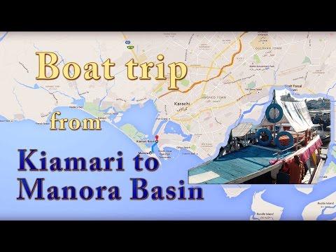 Boat trip from Kemari to Manora Basin, Karachi - P