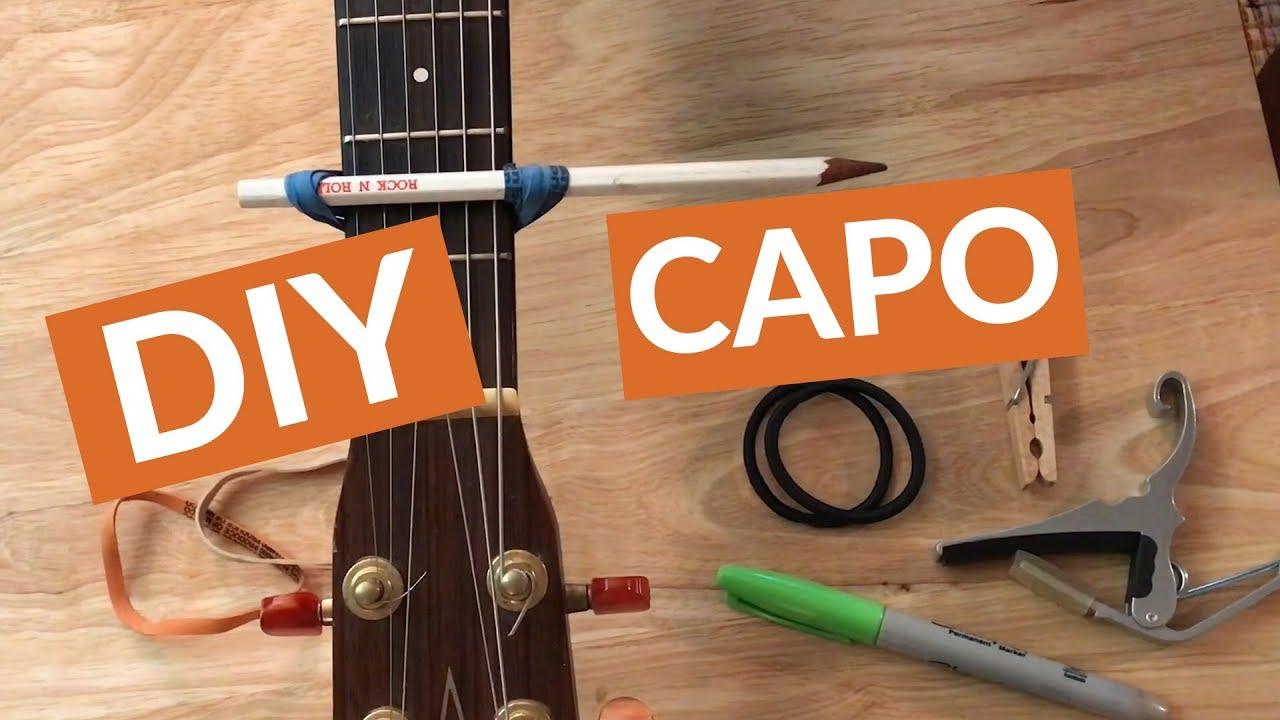 How To Make A Capo Easy Diy Homemade Capo Tutorial