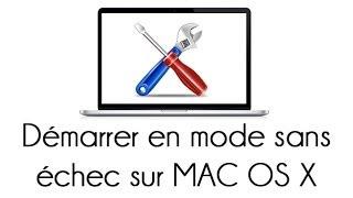 Démarrer son Mac en mode sans échec