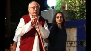Rani mukherji says her last goodbye to joy mukherjee