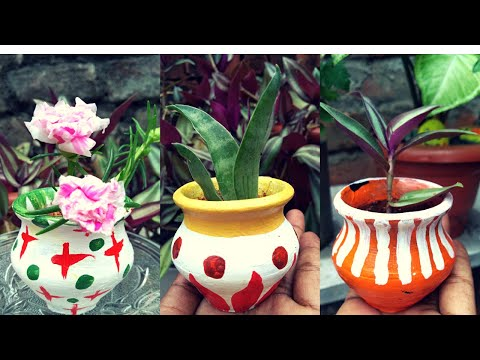 diy-pot-painting-ideas-!!-terracotta-pots-painting-!!-pot-painting-designs!!-ranjana-singh