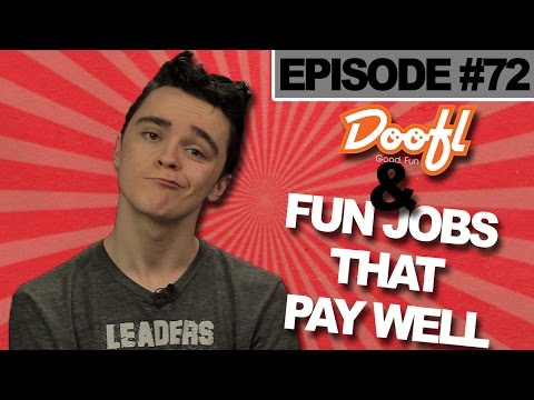 Most Fun & Best Paying Jobs