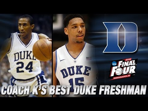 Who Is Coach K's Best Freshman Of All Time? | Duke In The Final Four