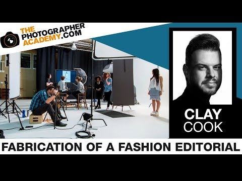 ACADEMY LIVE | Clay Cook - Fabrication of a Fashion Editorial