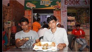 Pizza Dosa - Indian Street Food | Kargil Petrol Pump Foods Market | Krishna Vlogs